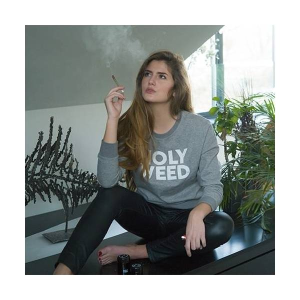 Woman Pullover HolyWeed - 2