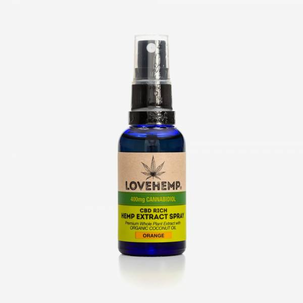 Love Hemp CBD Oil Spray MCT